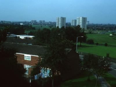 View of Chelmesley Wood from Southeast