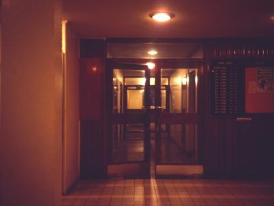 9th storey corridor in Truro Tower