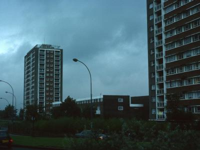 View of 16-storey blocks on St Vencent Street