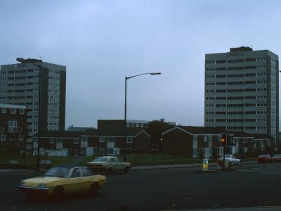View of 13-storey blocks on Summer Lane