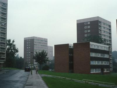 View of 13-storey blocks on Springbank Road and Summer Road
