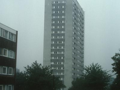 View of Haddon Tower from Bristol Road