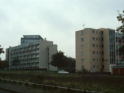 View of 6-storey blocks on Windsor Street and Kellett Road