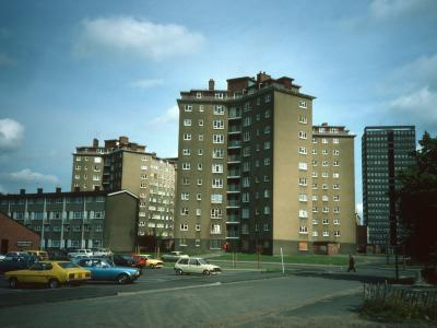 View of Murdoch Place and Boulton Place