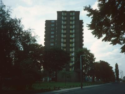 View of Thompson Gardens from Manor Road