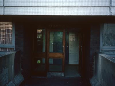Entrance to Alder House