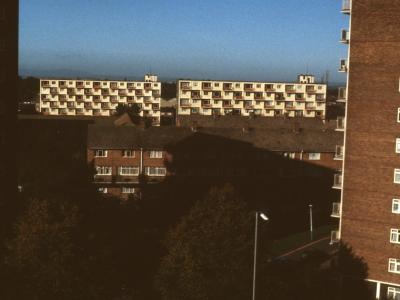 View of Wulfruna Court and Grange Court