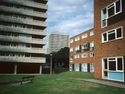 Willam Batchelor House on left of photo