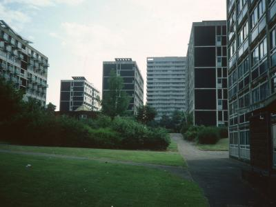 View of Hillfields Comprehensive Development Area from West