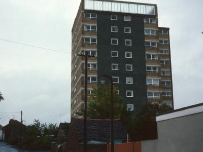View of Firmstone Court from Firmstone Street