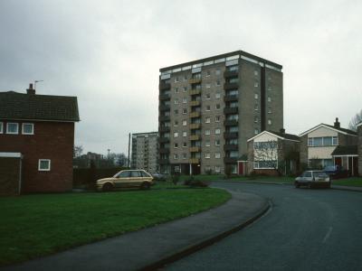 View of 9-storey block on Stephens Road