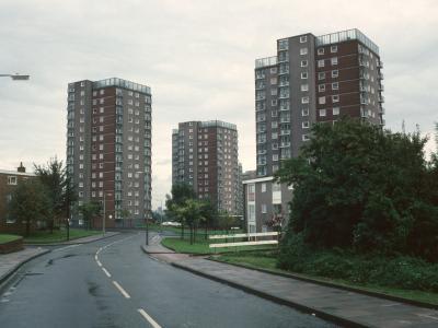 View of 16-storey blocks