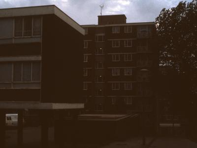 View of 8-storey block in Orlando Street development