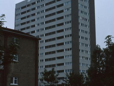 View of Osborne Tower from Queens Road