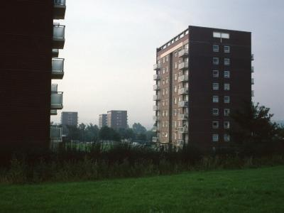 View of 7-storey blocks on Lower Beeches Road