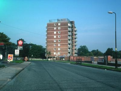 View of Cocksmoor House from Grove Road