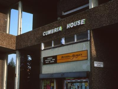 Entrance to Cumbria House