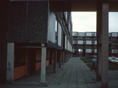 View of 6-storey blocks on Bonsall Street