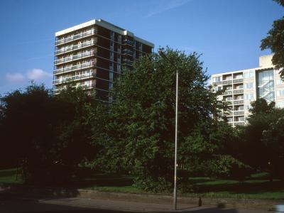 View of Platt Court and Worsley Court