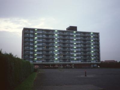 View of 9-storey block on Southwick Road