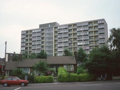 View of Liverton Court from Victoria Avenue