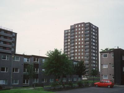 View of Flora Court and 9-storey block on Rigby Street