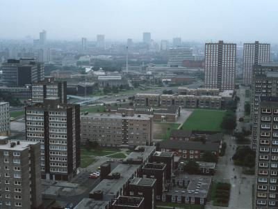 General view of Ellor Street Estate