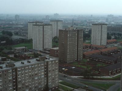 General view of Ellor Street Estate