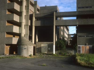 View of Broomhall flats