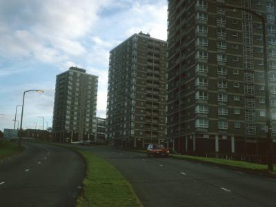 View of Brook Hill blocks
