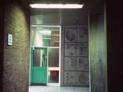 Corridor in 17-storey block in Norfolk Park
