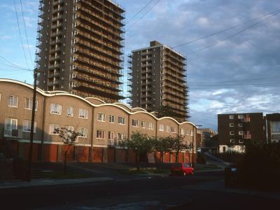 View of 15-storey blocks on Andover Street