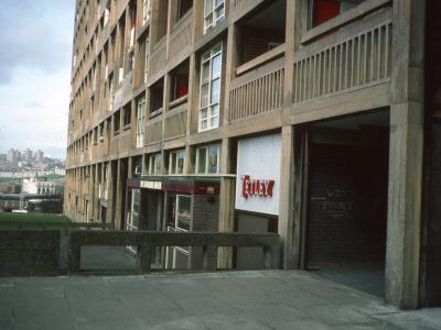 View of block on Park Hill Estate