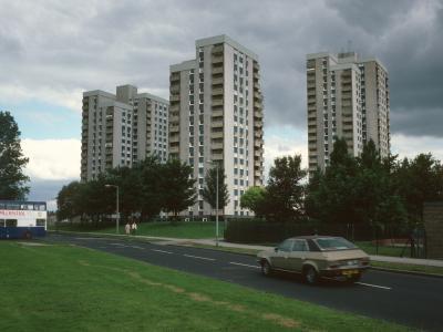 View of blocks on Thorpepark Road