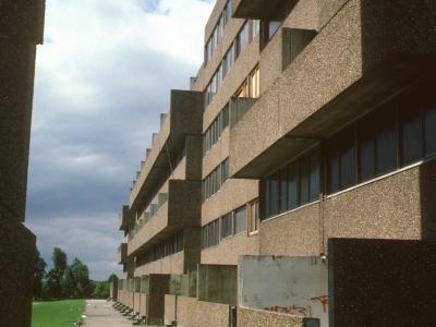 View of 6-storey block in Bransholme