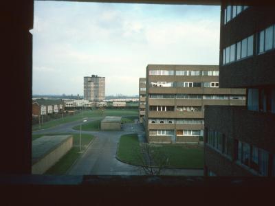 View of 6-storey blocks in Bransholme