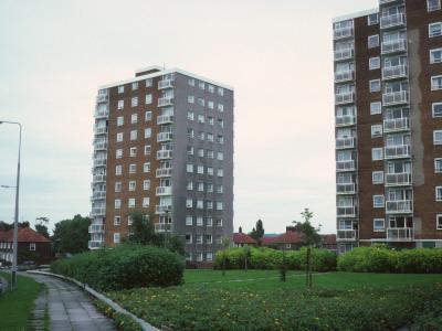 View of Ash Grange and Oak Grange
