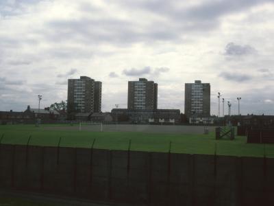 View of Winterburn Heights blocks