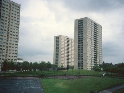 View of 22-storey blocks on Sheil Road