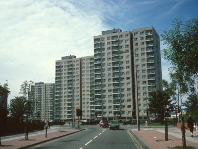 View of Storrington Heys blocks