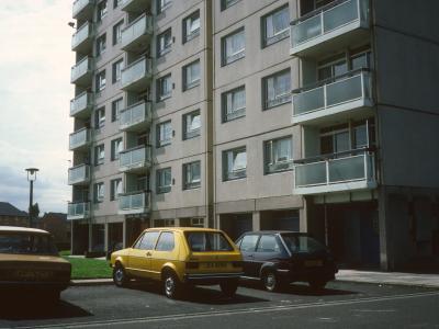 View of Storrington Heys block