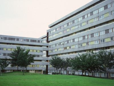 View of 10-storey block on Gleave Crescent