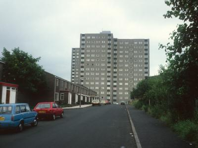 View of Crossbank House from Vale Drive