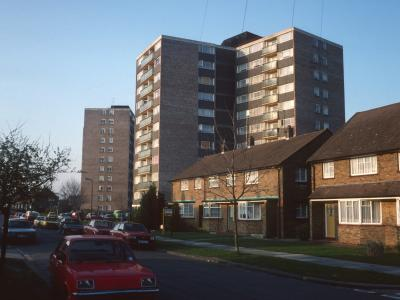 View of Temple Court and Sutton Court