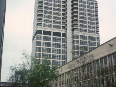 View of Murray John Building