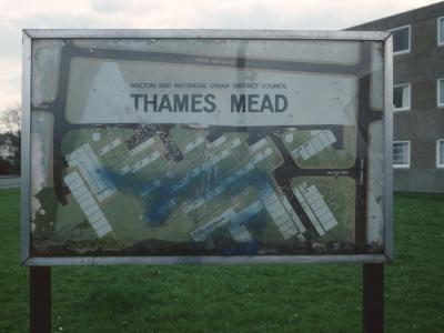 Signage for Thames Mead Estate