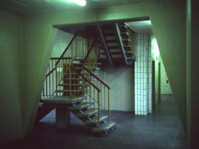 Stairwell in Barton House