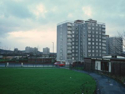 General View of 11-storey blocks in Hartcliffe