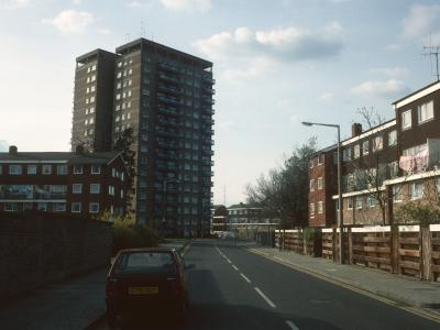 View of Surrey Towers