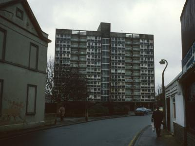 View of Clapham Court